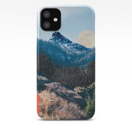 1960's Style Mountain Collage iPhone Case