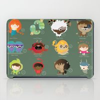 zodiac iPad Cases featuring The zodiac by Maria Jose Da Luz