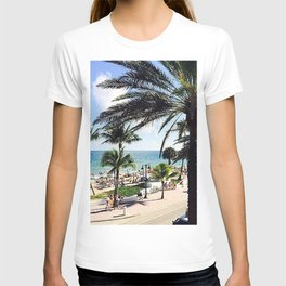 Ft. Lauderdale Beach   Photo T-shirt