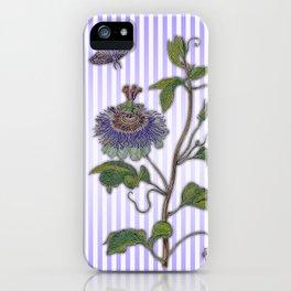 Merian: Passiflora iPhone Case
