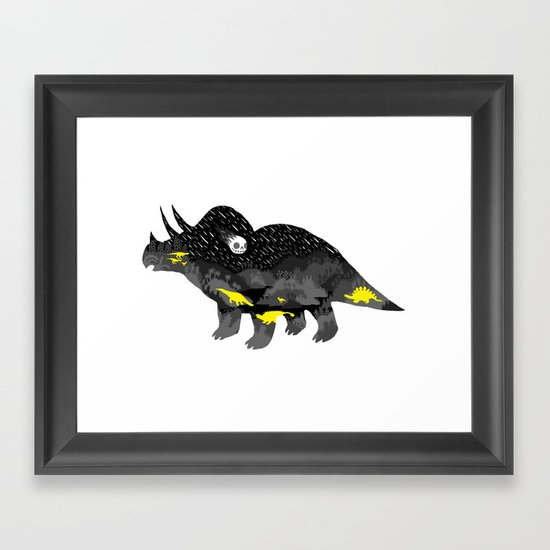 Extinction, pt. 3 Framed Art Print