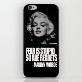 Marilyn Mon iPhone Skin