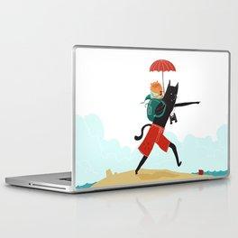 The Adventures of Ham & Cat Laptop & iPad Skin