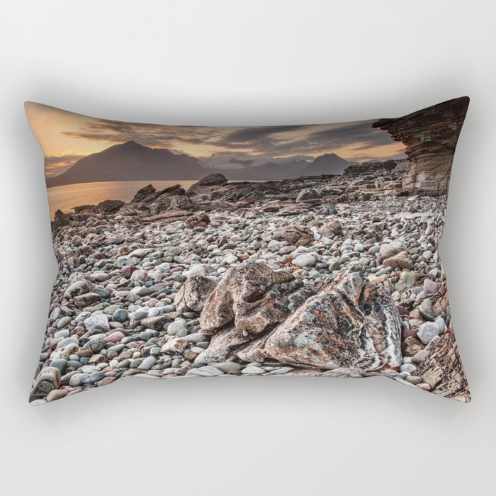 Beach lac Ecosse 4 Rectangular Pillow