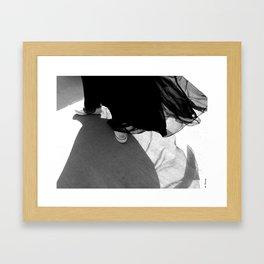 Prom Dress Framed Art Print