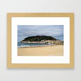 La Concha Framed Art Print