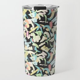 Pastel Scribbles Travel Mug