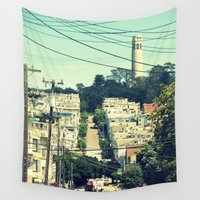 san francisco Wall Tapestries featuring San Francisco by Mr & Mrs Quirynen