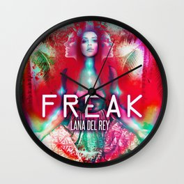 California Freak Wall Clock