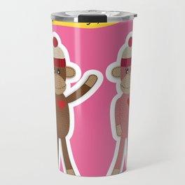 Favorite Monkey Travel Mug