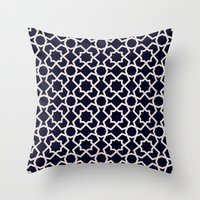 morocco Throw Pillows featuring Morocco by Patterns and Textures