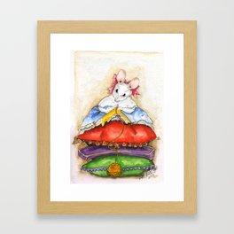 Little Miss Mouse Framed Art Print
