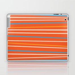 Orange Stripes Laptop & iPad Skin