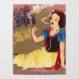 Snow White Girl Poster
