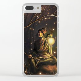 The Watcher of the Night Clear iPhone Case