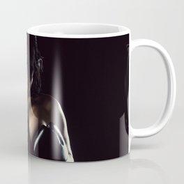 Female Boxing Coffee Mug