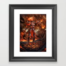-Fire- Framed Art Print