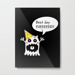 Birthday Metal Print