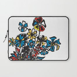 Bouquet - Skal Laptop Sleeve
