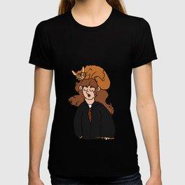Hermione and Crookshanks  T-shirt