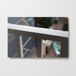 Let it Rain Metal Print
