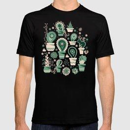 Paisley succulents T-shirt
