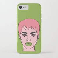 mod iPhone & iPod Cases featuring Mod by Grace Teaney Art