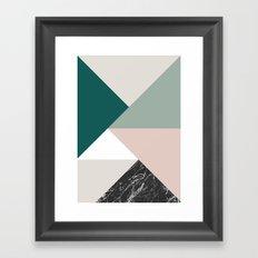 Tangram Framed Art Print