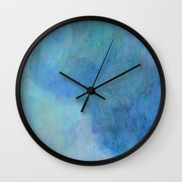 Minimal Mountain- - 遠望 series - oil-paint Wall Clock