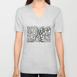 Swirling Together Unisex V-Neck