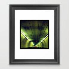 Tunnel Series- 1 Framed Art Print