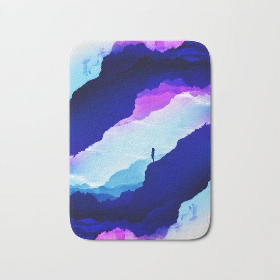 Violet dream of Isolation Bath Mat