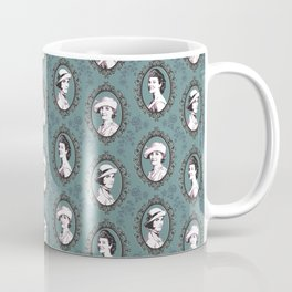 Crawley girls victorian downton Coffee Mug