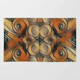 Coiled Metals Rug