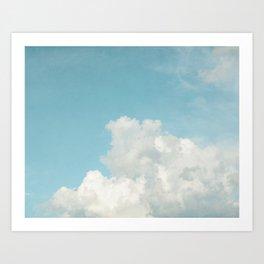 Summer Sky 3 Art Print
