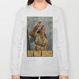 Vintage poster - Buy War Bonds Long Sleeve T-shirt
