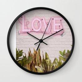 Love Sign Wall Clock