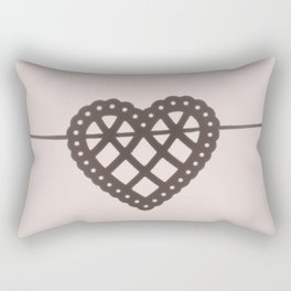 heart on a string Rectangular Pillow