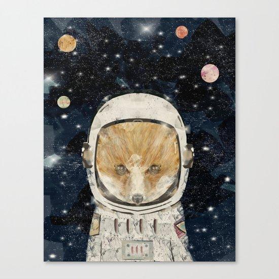 little space fox Canvas Print