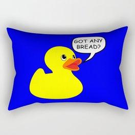 Rubber Duck - Got any Bread Rectangular Pillow