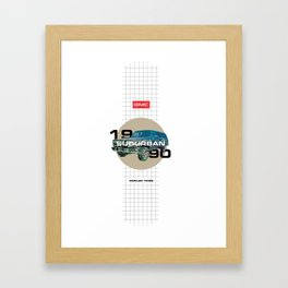 1990 GMC Suburban Framed Art Print