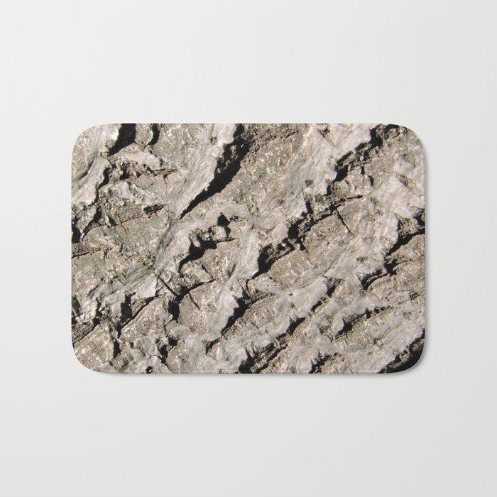 TEXTURES: Walnut Bark Bath Mat