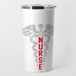 Nurse Gift - Nursing Gifts - Nurse's US Flag Travel Mug