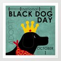 Black Dog Day Royal Crown by theholidayguild