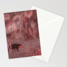 Hedgehog in the Garden Stationery Cards