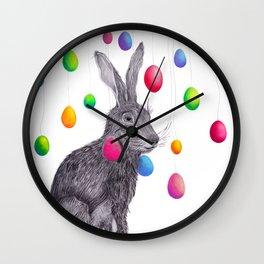 Rainbowrabbit Wall Clock