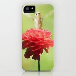 The Flower Goddess iPhone Case