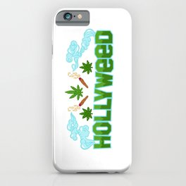 HOLLYWEED iPhone Case