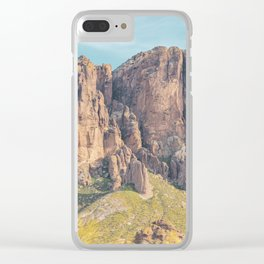 Superstition Mountains, Arizona Clear iPhone Case