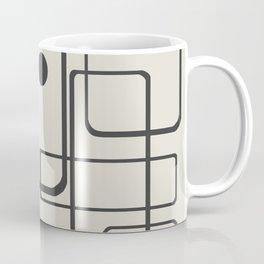 Retro Mid-Century Modern Pattern Coffee Mug